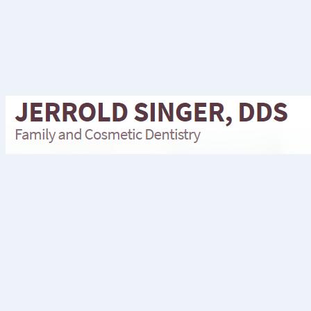 Dr. Jerrold H Singer