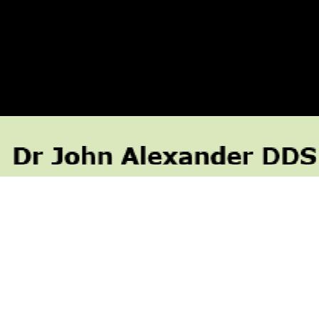 Dr. John C Alexander