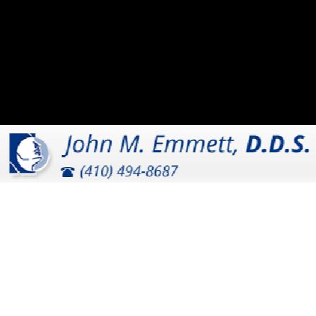 Dr. John M Emmett  DDS