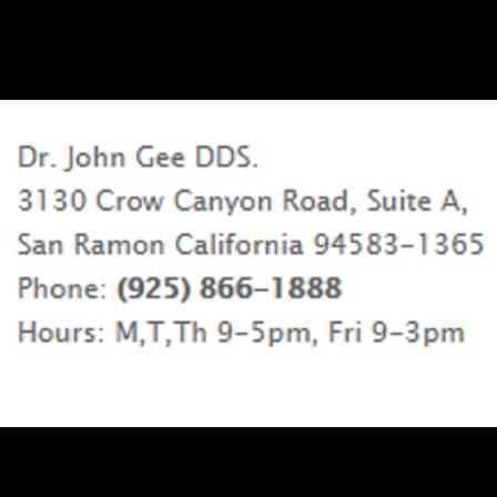 Dr. John W Gee