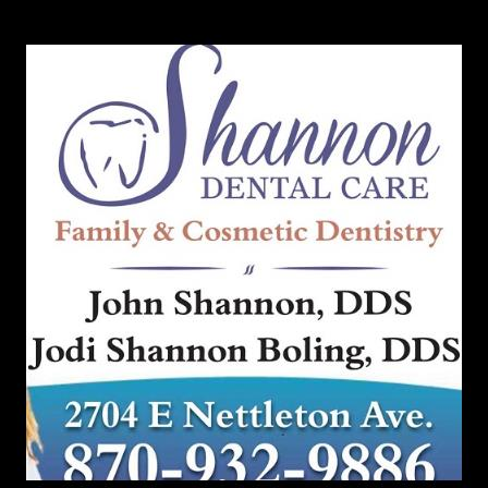 Dr. John L Shannon