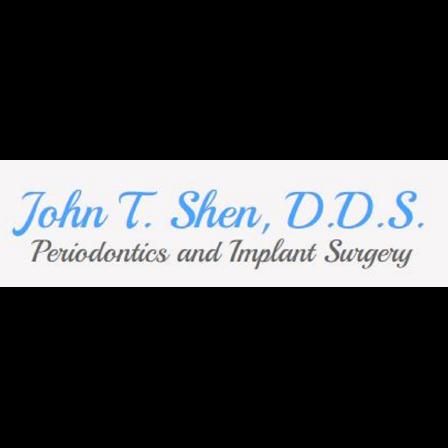 Dr. John T Shen