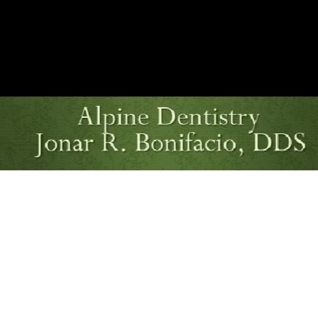 Dr. Jonar R Bonifacio