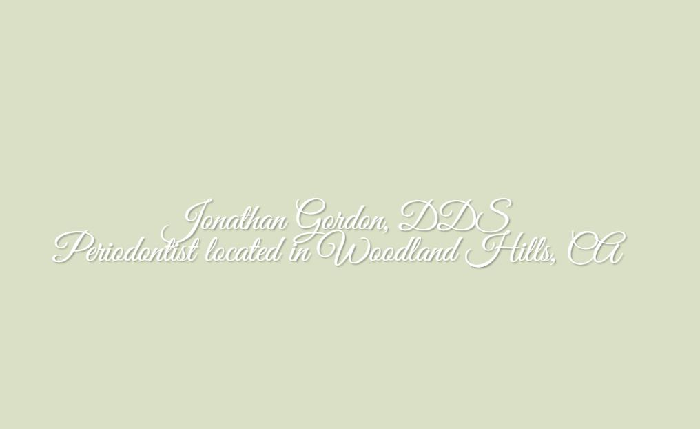 Dr. Jonathan M Gordon