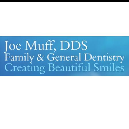 Dr. Joseph Muff
