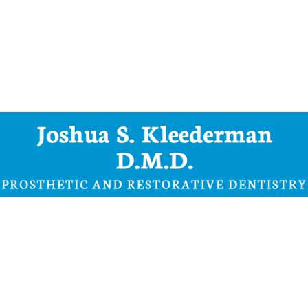 Dr. Joshua Kleederman
