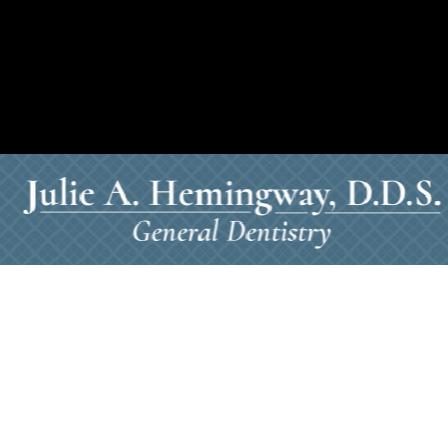 Dr. Julie A Hemingway