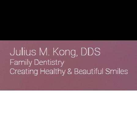 Julius M Kong, DDS