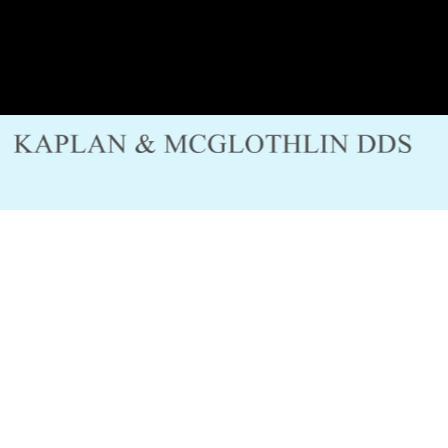 Dr. Karen K McGlothlin