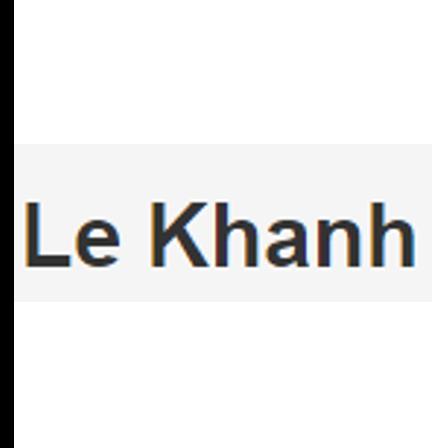 Dr. Khanh D Le