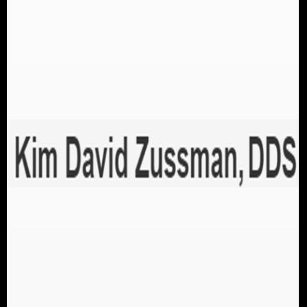 Dr. Kim D Zussman