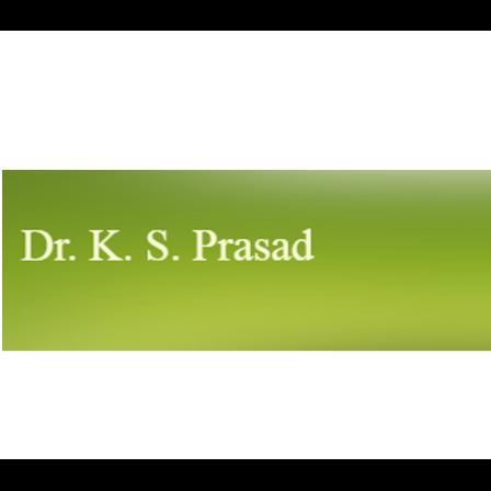 Dr. Krishnaswamy S Prasad