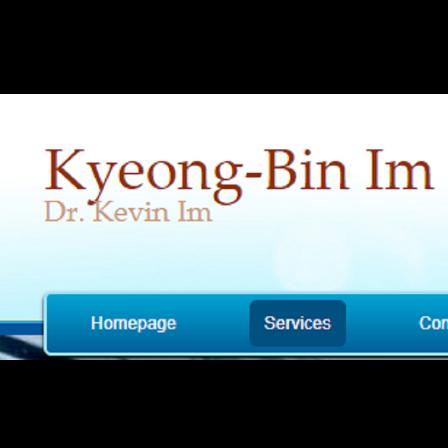 Dr. Kyeong-Bin Im