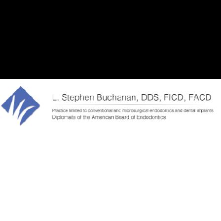 Dr. L. Stephen Buchanan