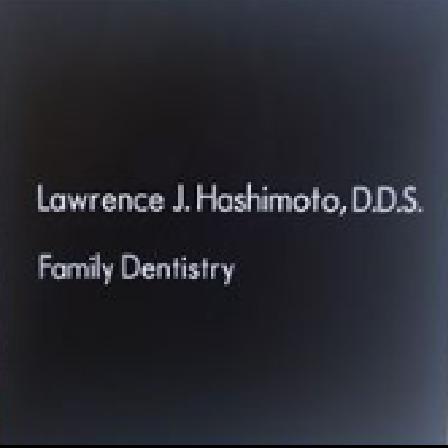 Dr. Lawrence J Hashimoto