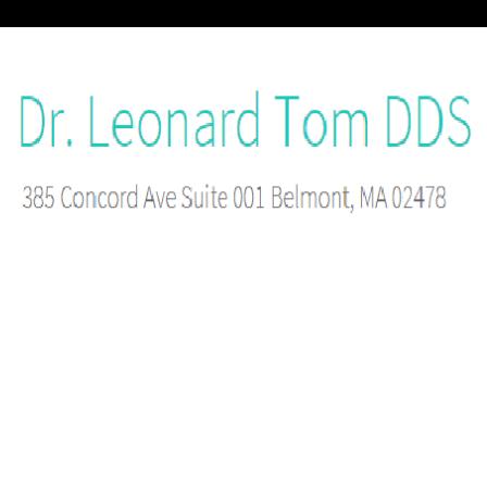 Dr. Leonard Tom