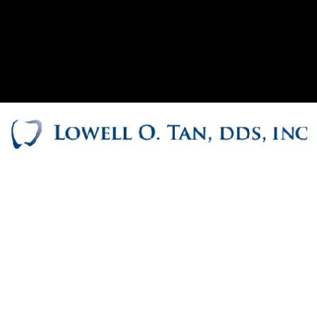 Dr. Lowell Tan