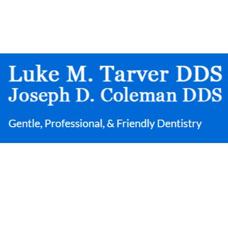Dr. Luke Tarver
