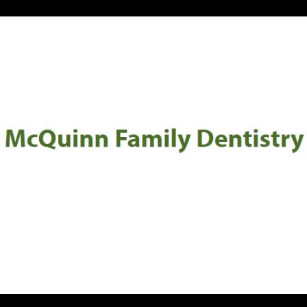 Dr. Mark A McQuinn
