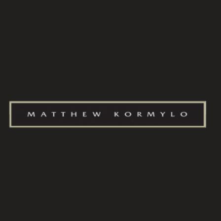 Dr. Matthew J Kormylo