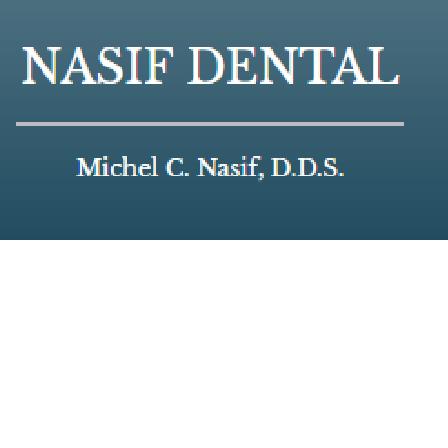 Dr. Michel C. Nasif