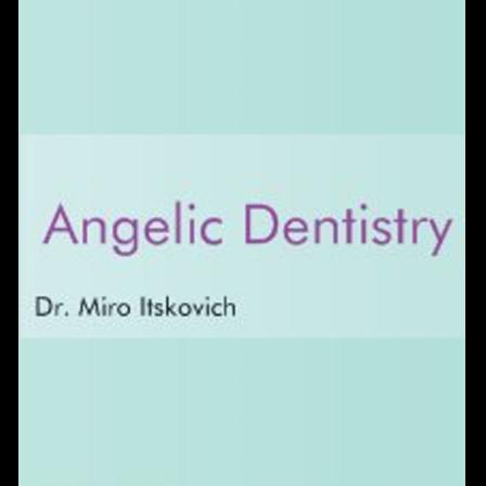 Dr. Miro Itskovich