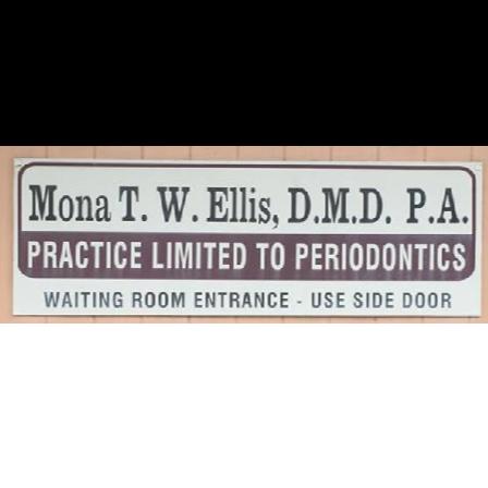 Dr. Mona T Ellis
