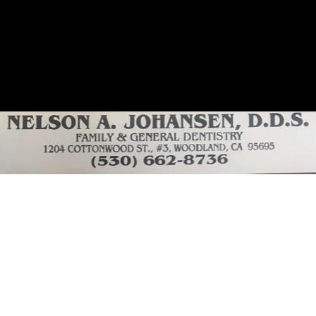 Dr. Nelson A Johansen