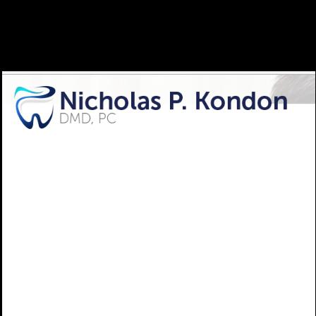 Dr. Nicholas P Kondon