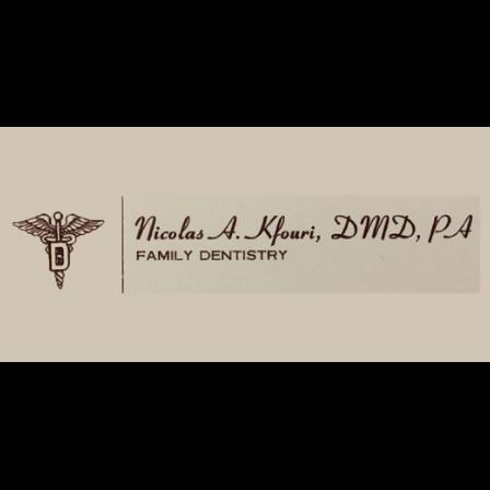 Dr. Nicolas A Kfouri