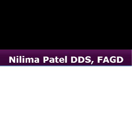 Dr. Nilima M Patel