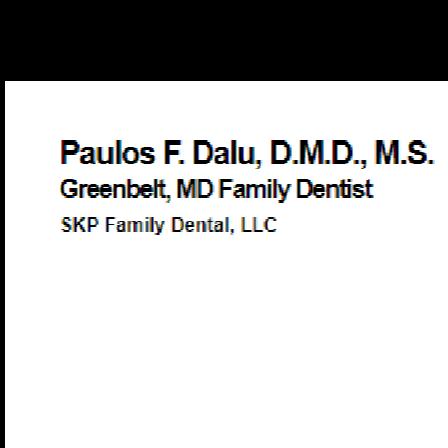 Dr. Paulos F Dalu
