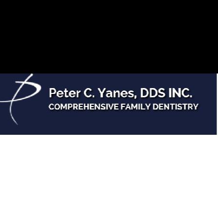Dr. Peter C Yanes