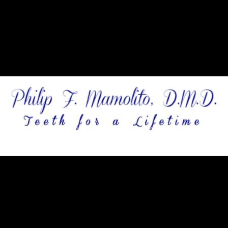 Dr. Philip F Mamolito