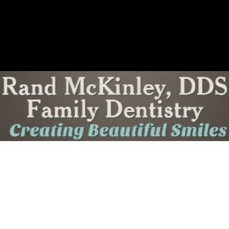 Dr. Rand McKinley