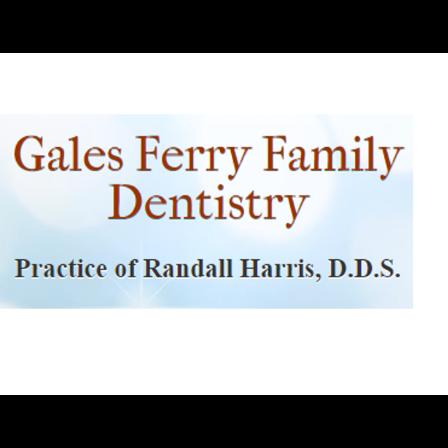 Dr. Randall D Harris