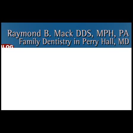 Dr. Raymond B Mack
