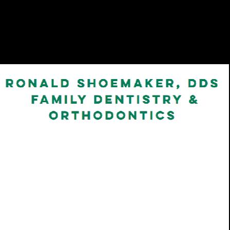 Dr. Ronald A Shoemaker