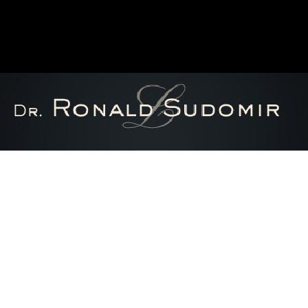 Dr. Ronald Sudomir