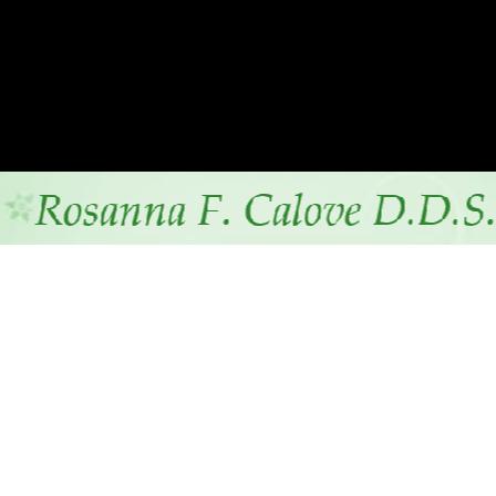 Dr. Rosanna F Calove