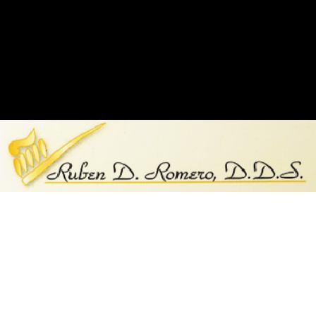 Dr. Ruben D Romero