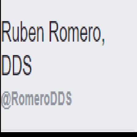 Dr. Ruben M Romero