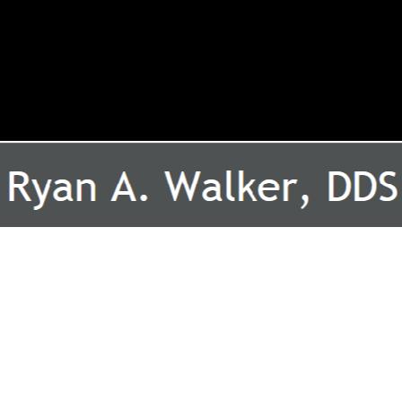 Dr. Ryan A Walker