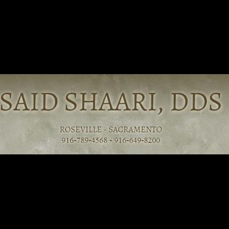 Dr. Said Shaari
