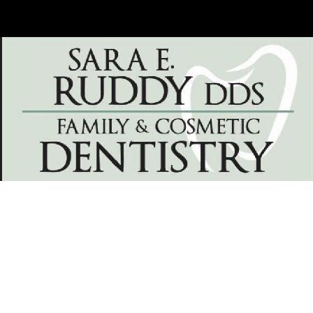 Dr. Sara E. Ruddy