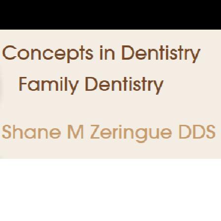 Dr. Shane M Zeringue