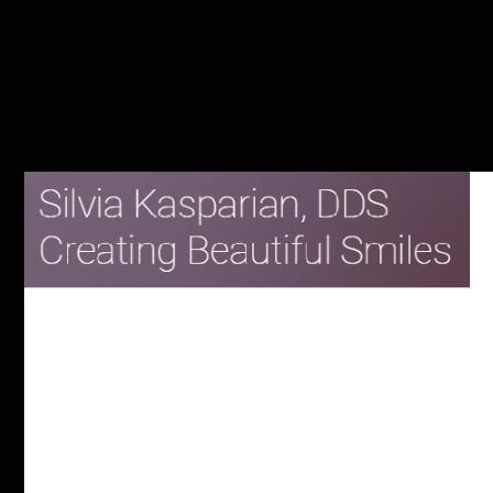 Dr. Silvia E Kasparian