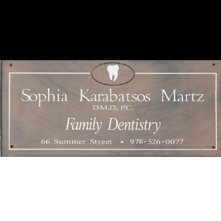 Dr. Sophia Martz