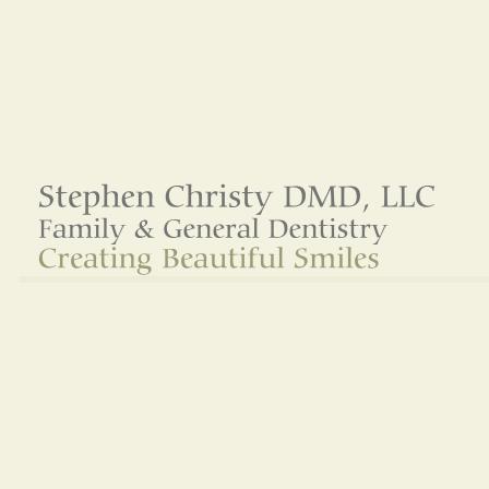 Dr. Stephen Christy