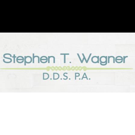 Dr. Stephen T Wagner
